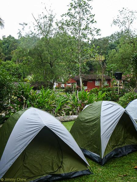 Camping ground.