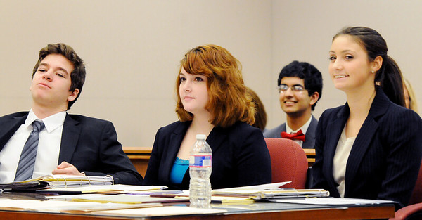MOCK TRIAL COMPETITION, ST. JOE VS MAINLAND, MAYS LANDING NJ. 01/28/13