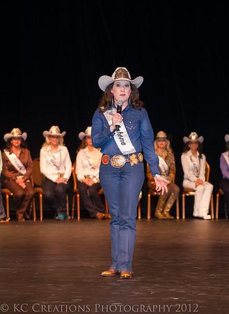 Miss Rodeo Oklahoma 2012