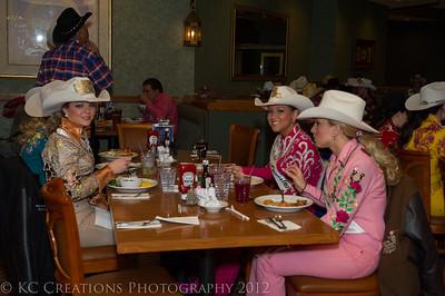 MRA 2012 Contestants, Judges & Chaperones Lunch