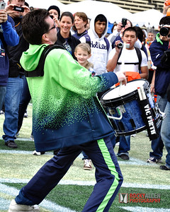 Blue Thunder the SeaHawks Drum Team   amazing
