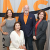 "Left to right, Karen Schneier Dresbach, Ida Feld Davidoff, Fred Zuckerman and Marcy Hahn-Saperstein promote the National Multiple Sclerosis Society's 34th annual ""MS Gala Luncheon"" which takes place on Wednesday, Jan. 18, 2017 at the Broward County Convention Center in Fort Lauderdale."