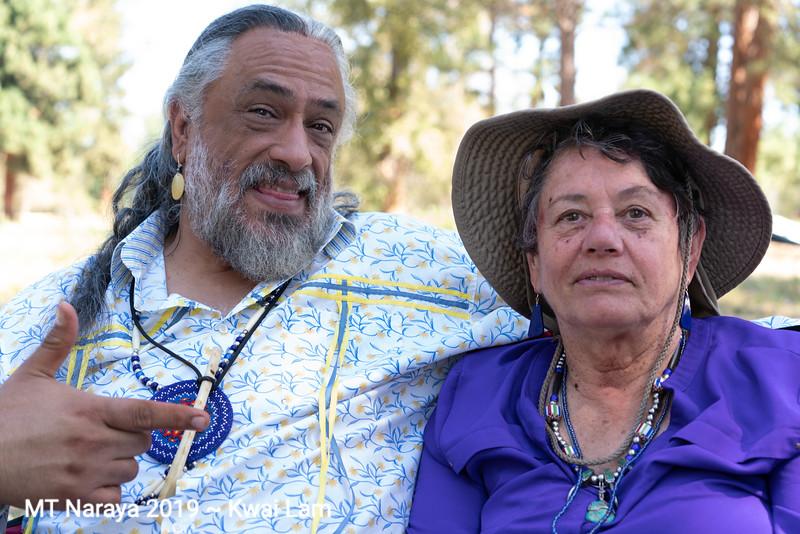 Timothy White Eagle and Catherine Balka