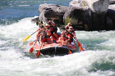 MTS raft trip 2016 -- Dechutes Oak Springs Chrash