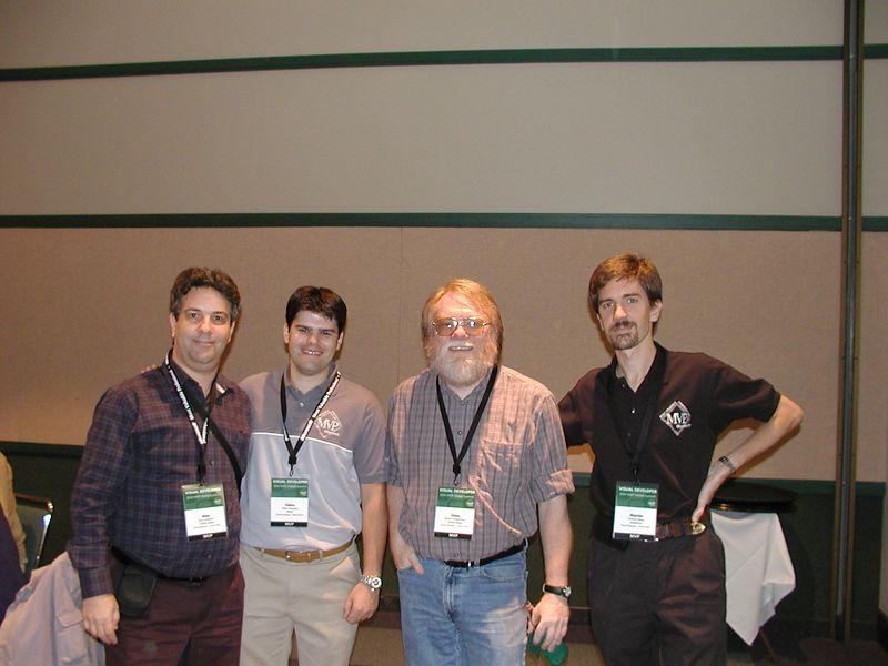 Alex Feldstein, Fábio Vazquez, David Frankenbach, Martin Salías