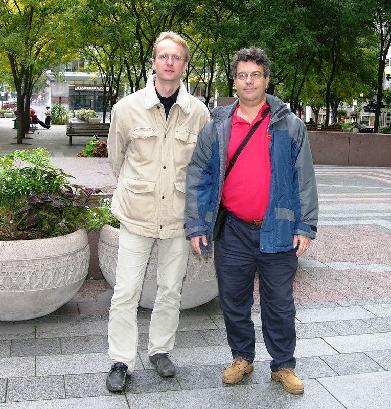 Stefan Wuebbe and Alex Feldstein