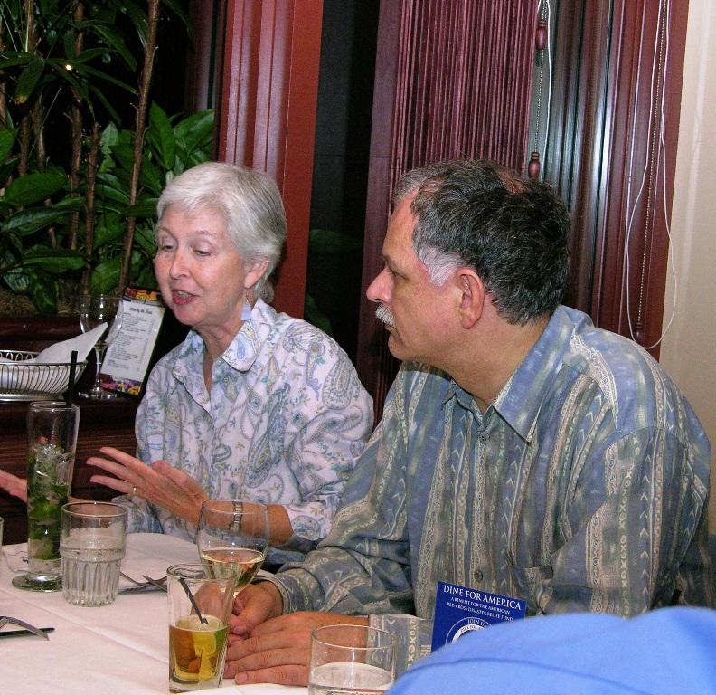 Barbara Paltiel and wOOdy