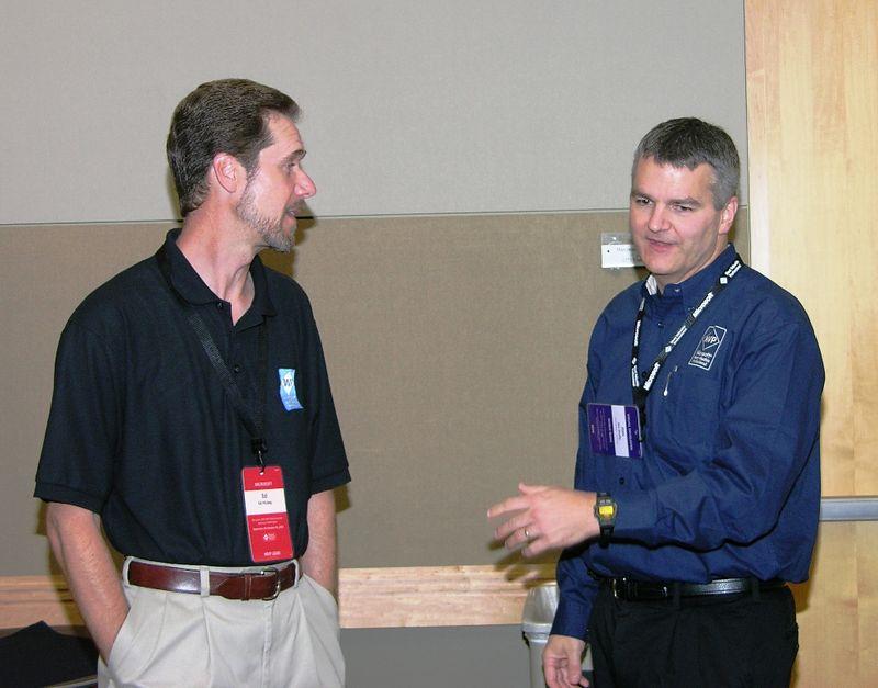 Ed Hickey [MS], Jim Duffy (right)