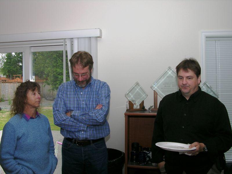 Bonnie Berent, Gary deWitt, Ken Levy