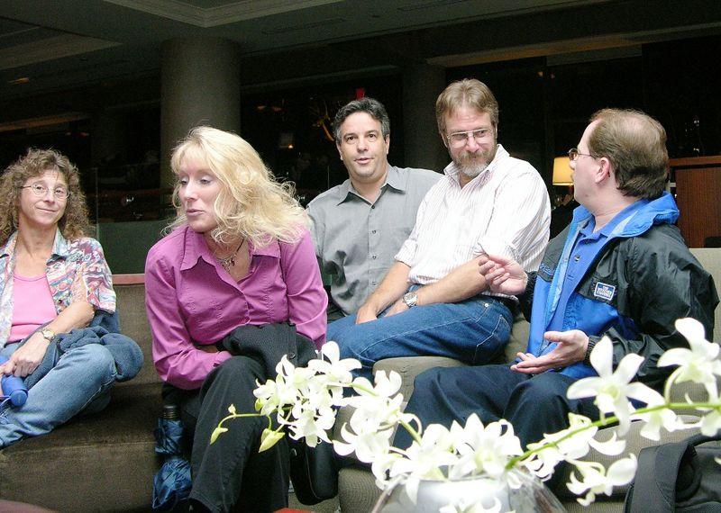 Bonnie Berent, Cathy Pountney, Alex Feldstein, Gary, Rick