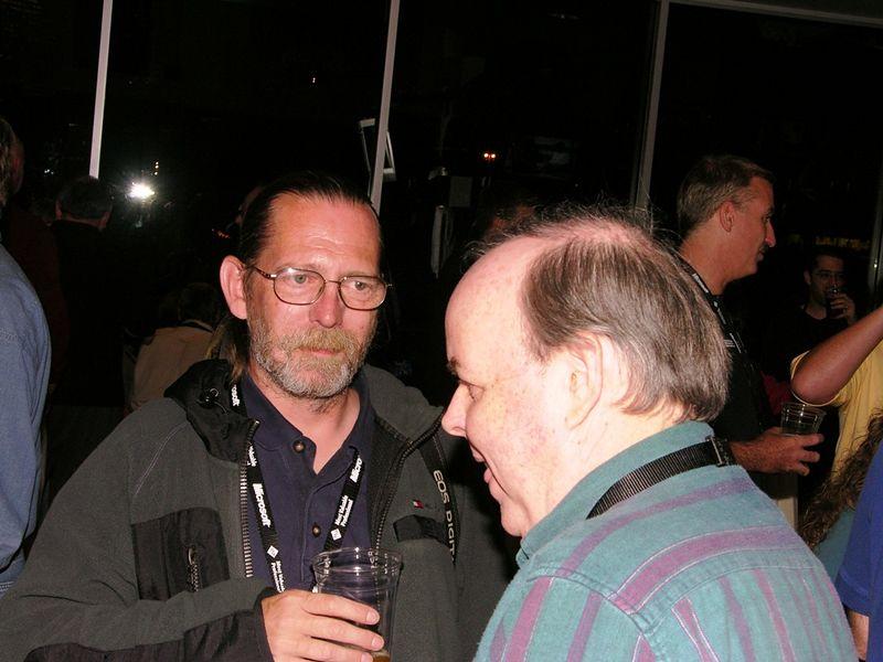 Dan Freeman (left), Carl Warner