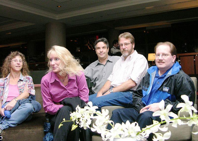 Bonnie Berent, Cathy Pountney, Alex Feldstein, Gary DeWitt, Rick Schummer