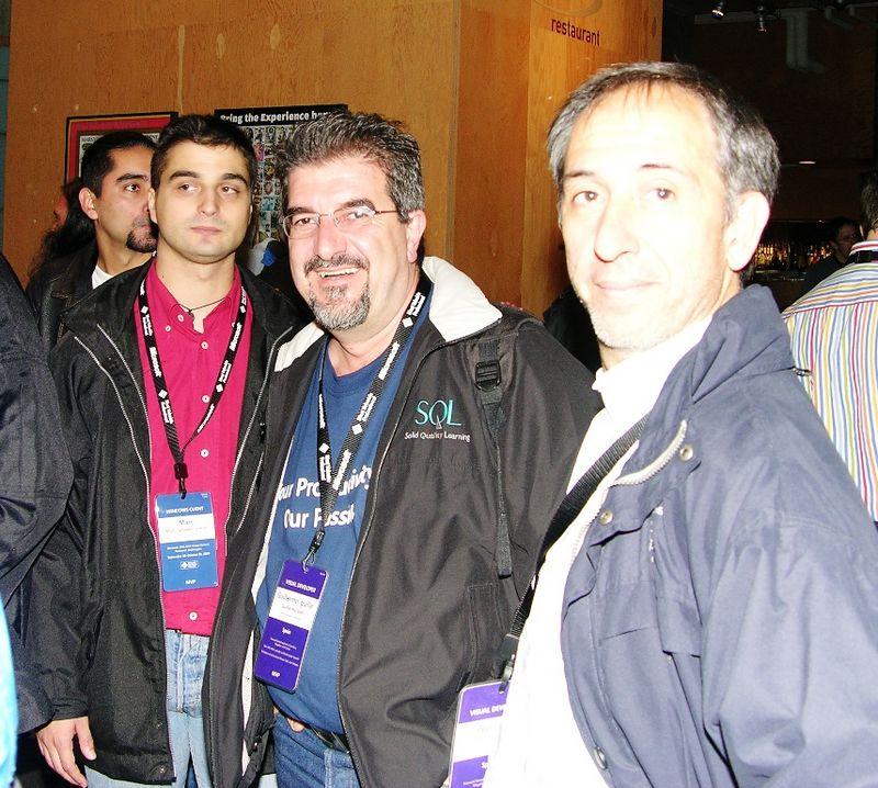 """Guillermo Som, """"El Guille"""" (center)"""
