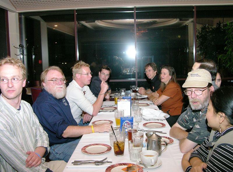 The Foxgang dinner
