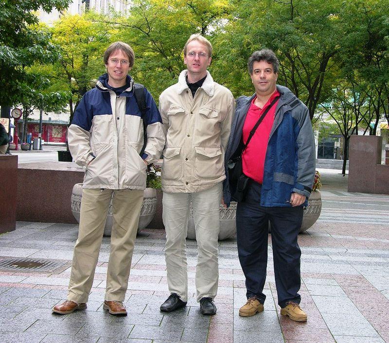 Igor Vit, Stefan Wuebbe and Alex Feldstein