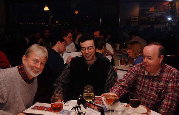 David Stevenson, Francis Faure, Carl Warner