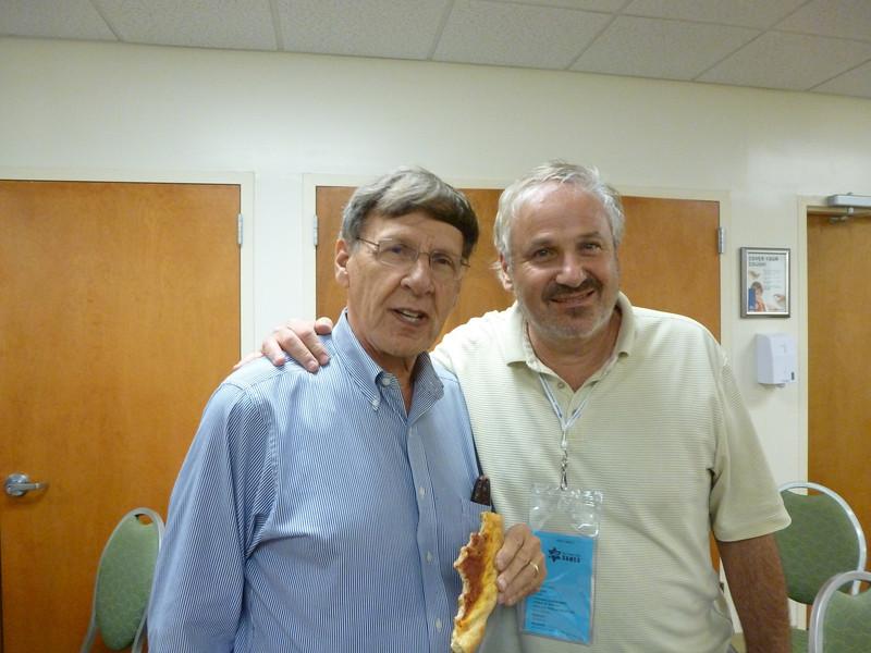 Judge Arnie Edelson, and Jeff.  Both hosting.