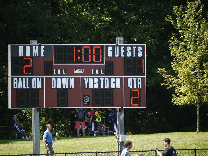 2-1 final.  Rockland won.