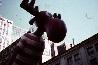 Macy;s Parade Balloon Inflation Event  - 2017 and Balloons through the Years