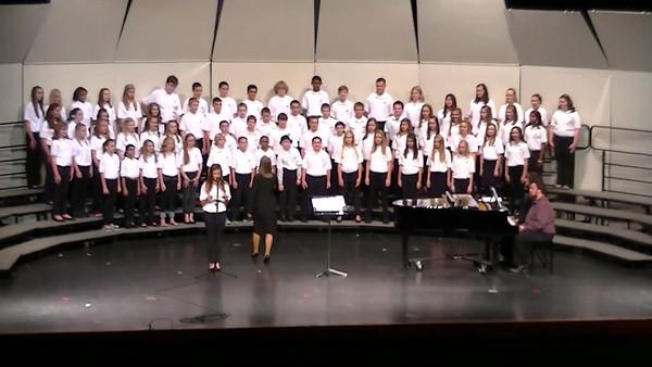 Madison Choir Concert 2013