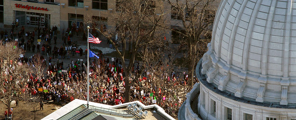 Madison,Wisconsin Feb 19th, 2011