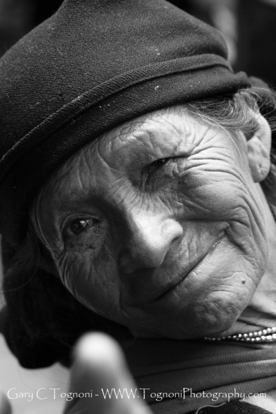 """""""Life Lines"""" This native South American crossed my path in the mountain town of Otavalo, Ecuador. """"Life Lines"""" won first place in the Mint Hill Arts 2011 Annual Juried show in the Photography category."""