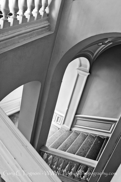 """""""Angles and Stairs"""" Captured in a back staircase of the Hermitage in St Petersburg, Russia"""