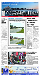 """The """"The Waccamaw Times"""" - My photo was used for the Header Image."""