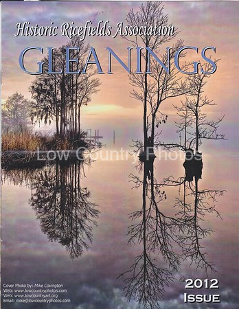 "The ""GLEANINGS"" - My photo was used for the Cover."
