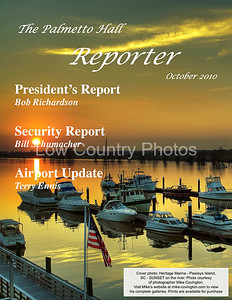 """The Palmetto Hall """"Reporter"""" - My photo was used for the cover."""
