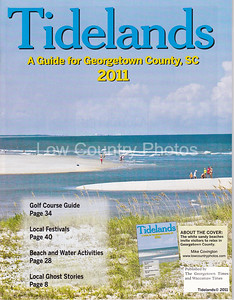 Georgetown County, SC Tidelands Magazine - My photo was selected for the cover.