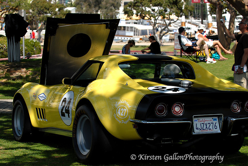 1969 Corvette, 427 engine