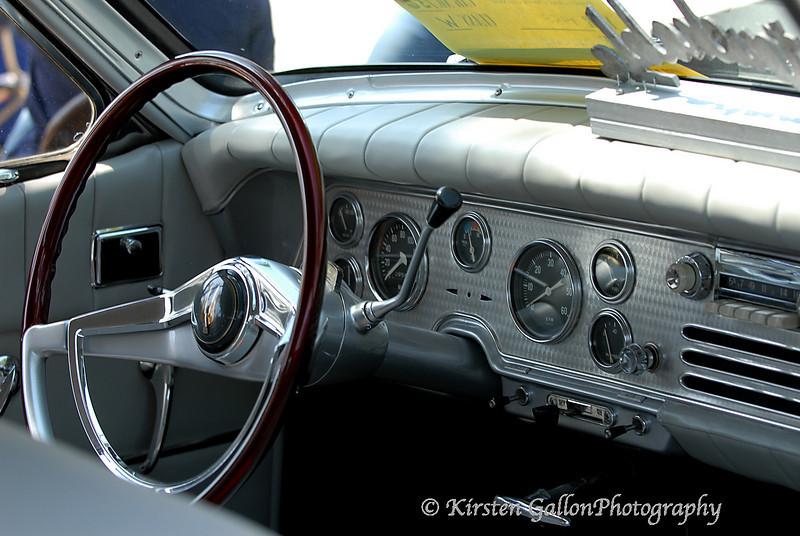 1958 Packard interior.
