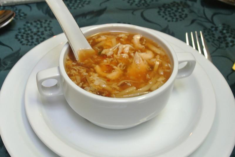 Pikante soep...