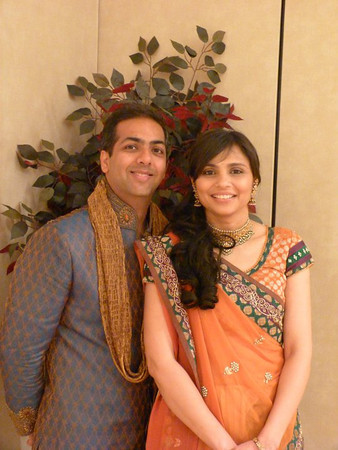 Maithil and Pooja's wedding