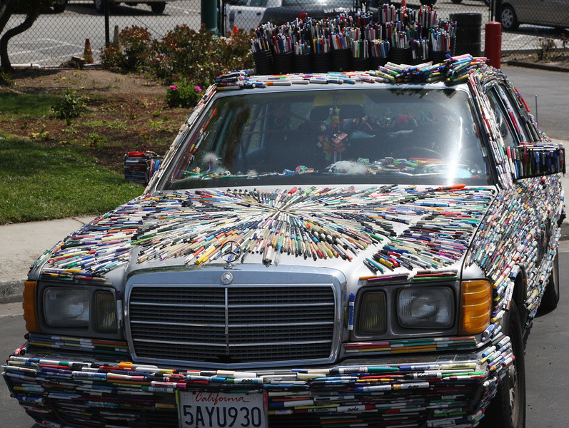 You can never have too many marker pens.  Not good for the resale value of your Mercedes.
