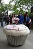 Cupcake on wheels