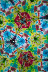 Tie-dye meets kaleidoscope