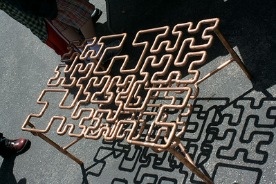 Hilbert curve table