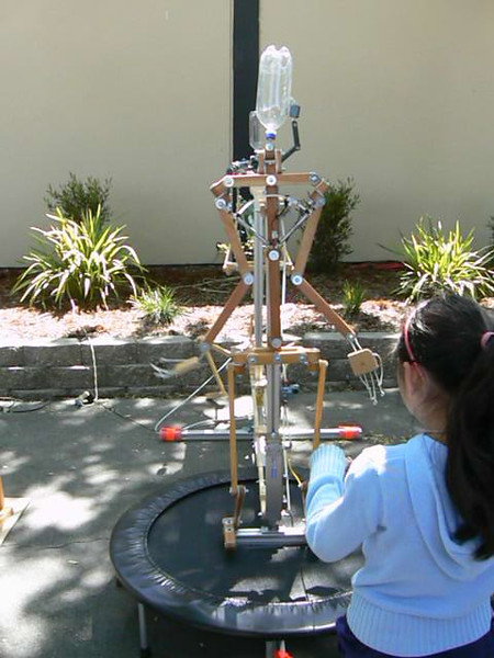 Robot Trampoline