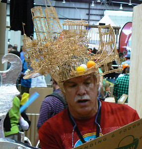 Toothpick Hat - San Francisco Skyline
