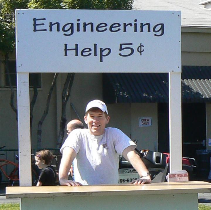 Engineering Help Booth