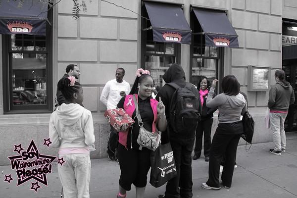 Making Strides Against Breast Cancer Walk 2011