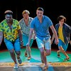 Dress Rehearsal for Mama Mia!. Jaylon Crump,  J.W. McFarland,  Zachary Prall, Jesus Gonzalez (Don Spivey/FocusInOn.me)