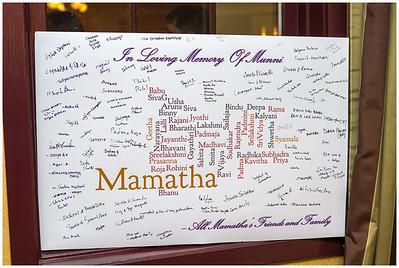 Mamata Memorial Service