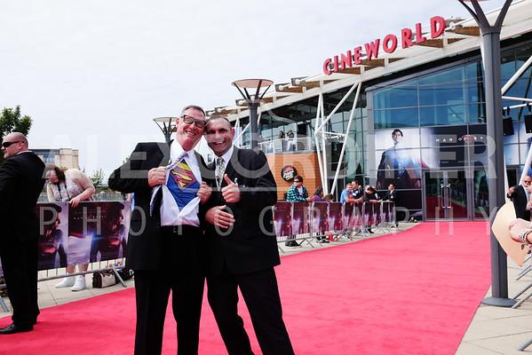 Man of Steel Jersey Premiere