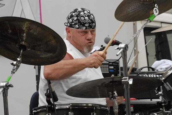 Kemmler's Fate drummer Robb Gibbs.