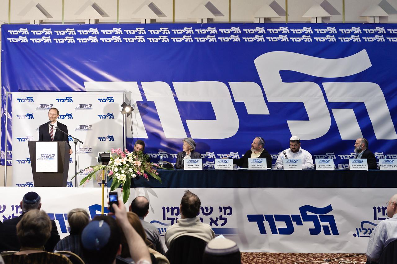 Likud and Moshe Feiglin