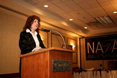 68th Annual Manitoba Wildlife Federation Convention - February 2012 Awards Banquet  Kathy Kennedy