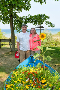 036 Michigan August 2013 - Grand Traverse Lighthouse (Dan & Janice)